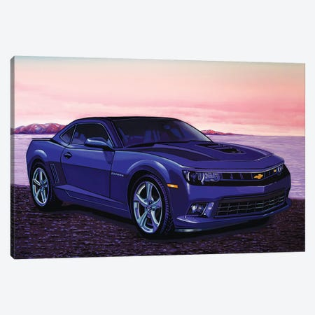 Chevrolet Camaro Car Canvas Print #PME41} by Paul Meijering Art Print