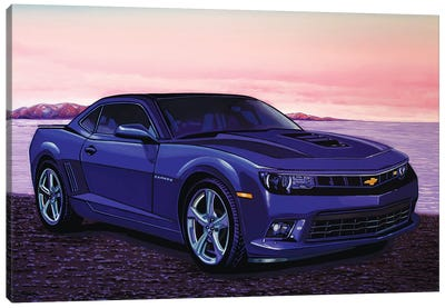Chevrolet Camaro Car Canvas Art Print