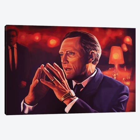 Christopher Walken Canvas Print #PME43} by Paul Meijering Canvas Print