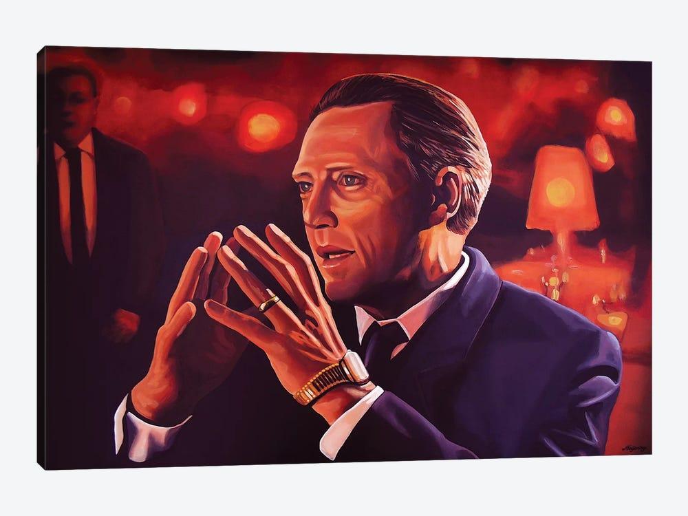Christopher Walken by Paul Meijering 1-piece Canvas Art