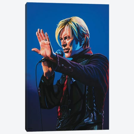 David Bowie I Canvas Print #PME49} by Paul Meijering Canvas Print