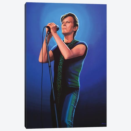 David Bowie II Canvas Print #PME50} by Paul Meijering Canvas Art