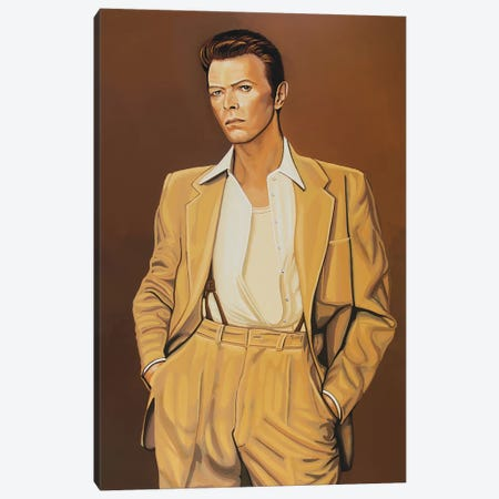 David Bowie IV Canvas Print #PME51} by Paul Meijering Canvas Artwork