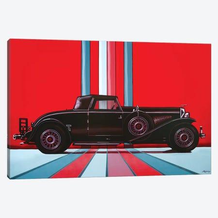 Duesenberg Model J 1929 Canvas Print #PME52} by Paul Meijering Canvas Art