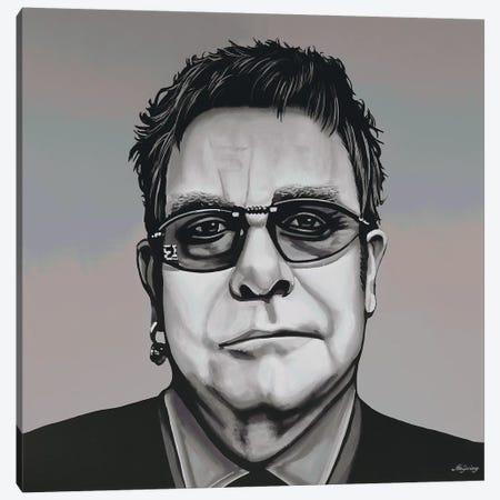 Elton John Canvas Print #PME55} by Paul Meijering Canvas Art Print