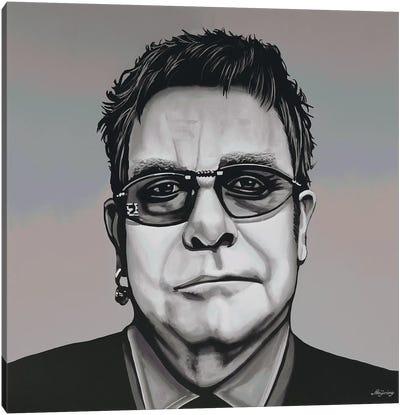 Elton John Canvas Art Print
