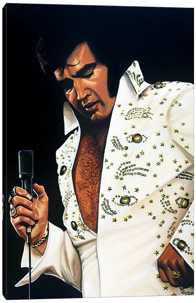 Elvis Presley I Canvas Art Print