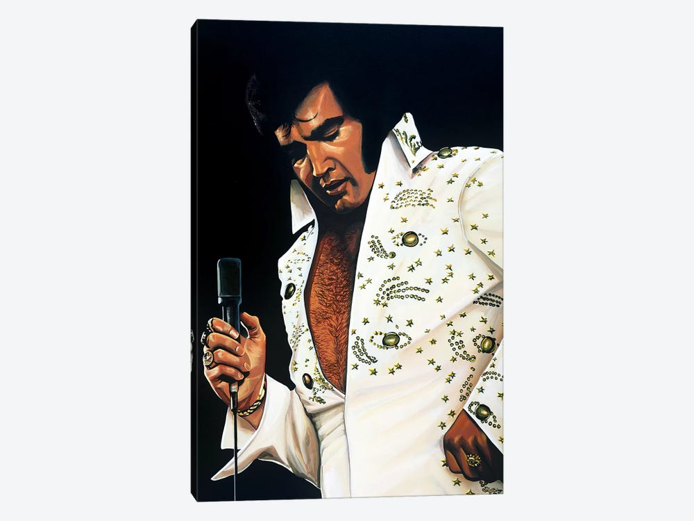 Elvis Presley I by Paul Meijering 1-piece Canvas Art