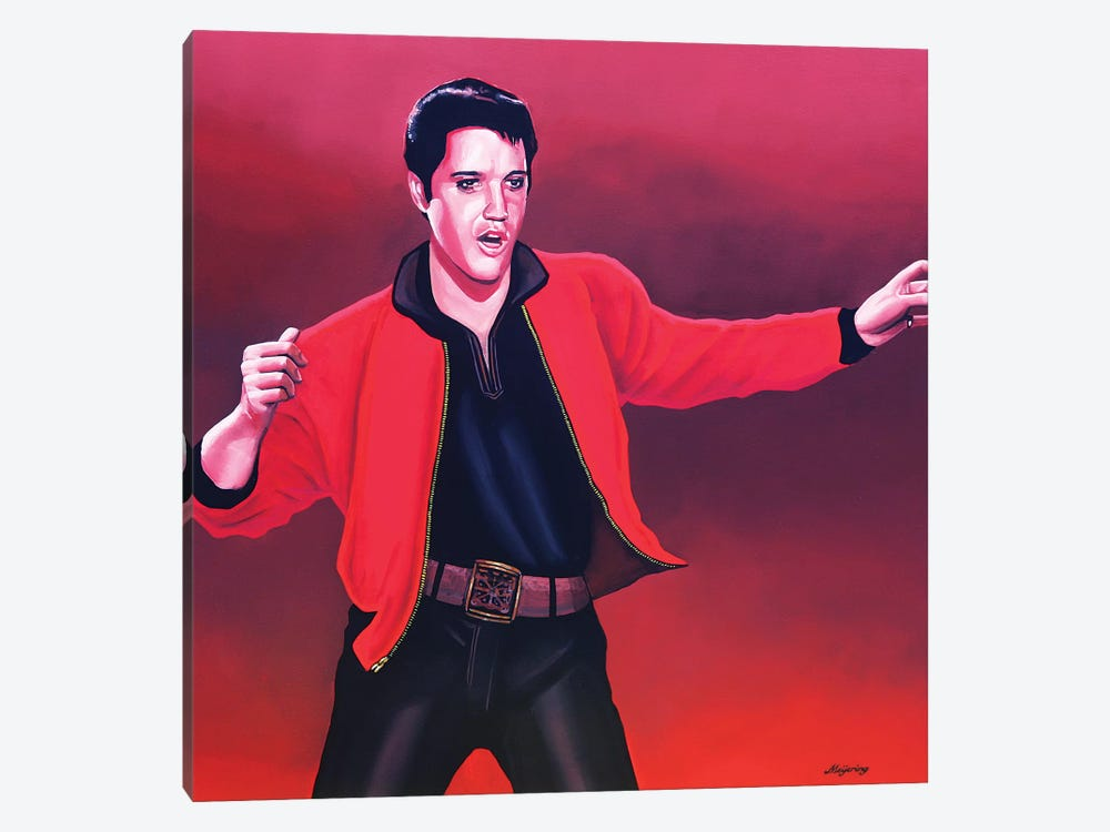 Elvis Presley IV by Paul Meijering 1-piece Canvas Art