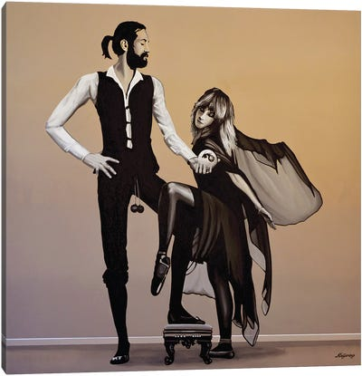 Fleetwood Mac Rumours Canvas Art Print