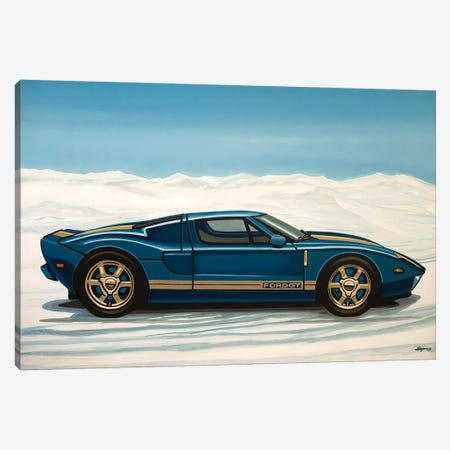 Ford Gt 2005 Canvas Print #PME64} by Paul Meijering Canvas Artwork
