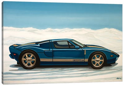 Ford Gt 2005 Canvas Art Print