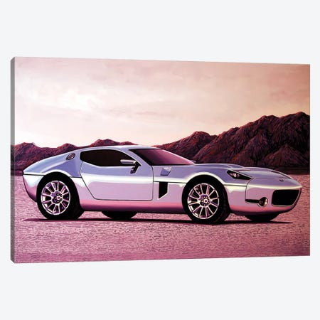 Ford Shelby Gr Canvas Print #PME65} by Paul Meijering Canvas Art