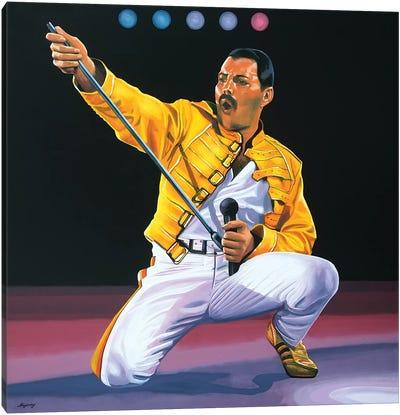 Freddie Mercury I Canvas Art Print