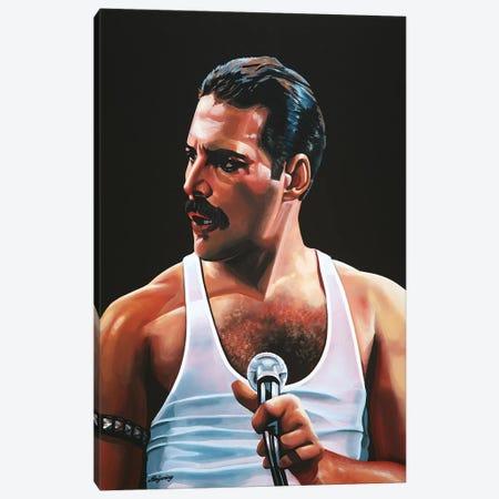Freddie Mercury III Canvas Print #PME68} by Paul Meijering Art Print