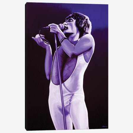 Freddie Mercury IV Canvas Print #PME69} by Paul Meijering Canvas Print