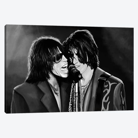 Aerosmith Digi Music Art Canvas Print #PME6} by Paul Meijering Canvas Print
