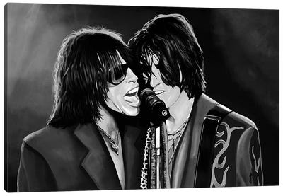 Aerosmith Digi Music Art Canvas Art Print