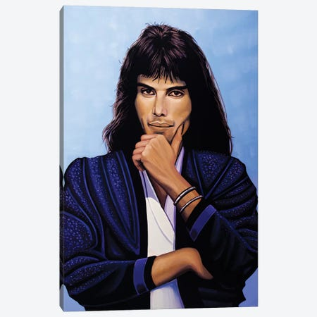 Freddie Mercury V Canvas Print #PME70} by Paul Meijering Canvas Art