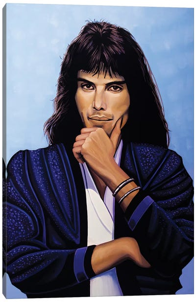 Freddie Mercury V Canvas Art Print