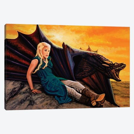Game Of Thrones Canvas Print #PME71} by Paul Meijering Canvas Artwork