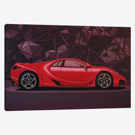 GTA Spano Car Canvas Print #PME74} by Paul Meijering Canvas Art Print