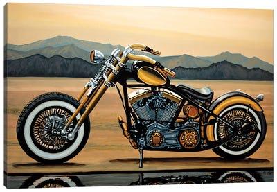 Harley Davidson Canvas Art Print