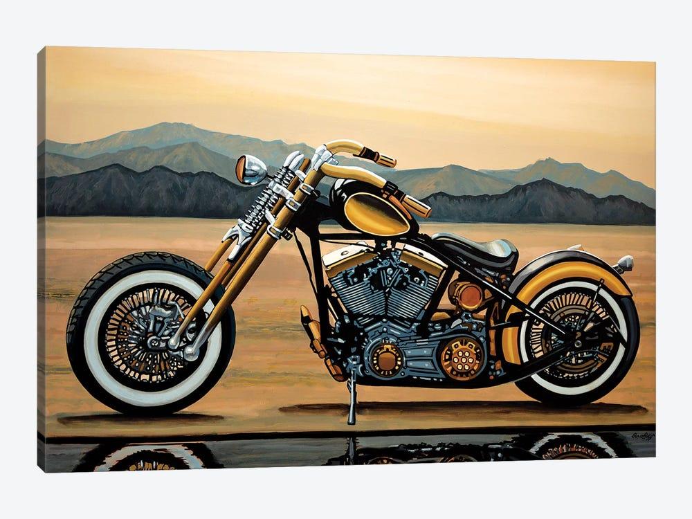 Harley Davidson by Paul Meijering 1-piece Canvas Print