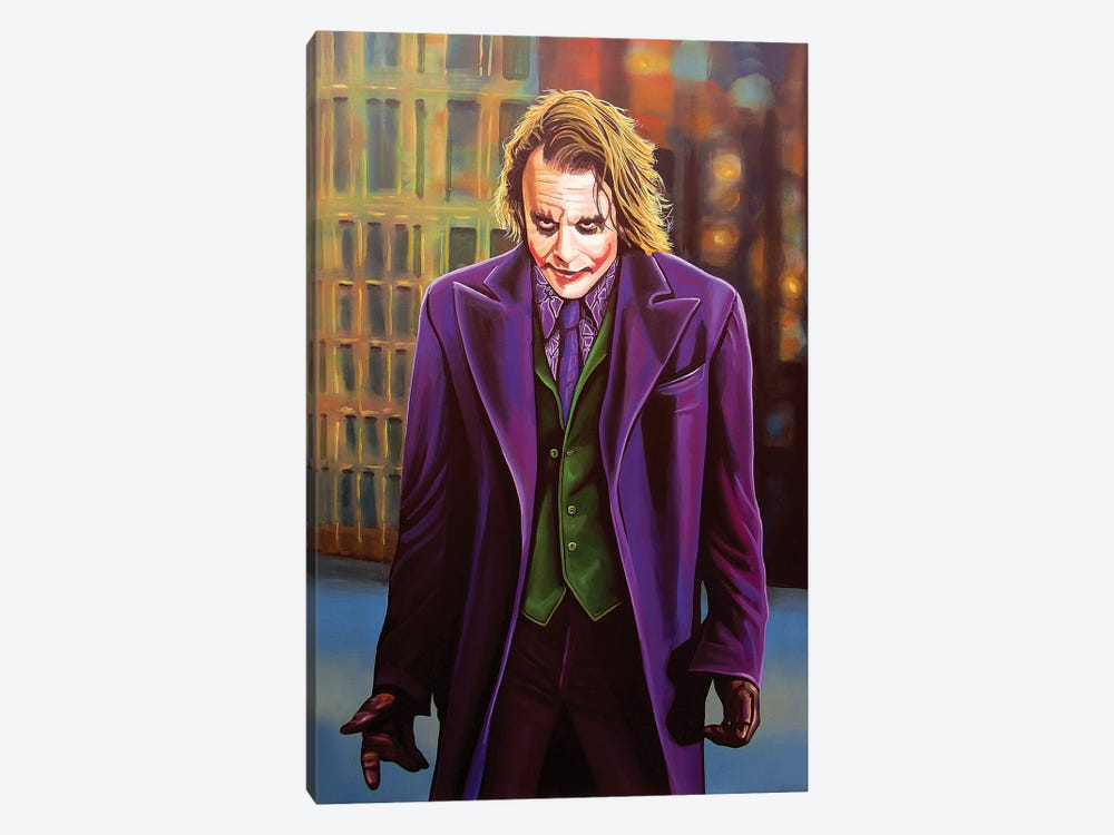 Heath Ledger by Paul Meijering 1-piece Canvas Wall Art
