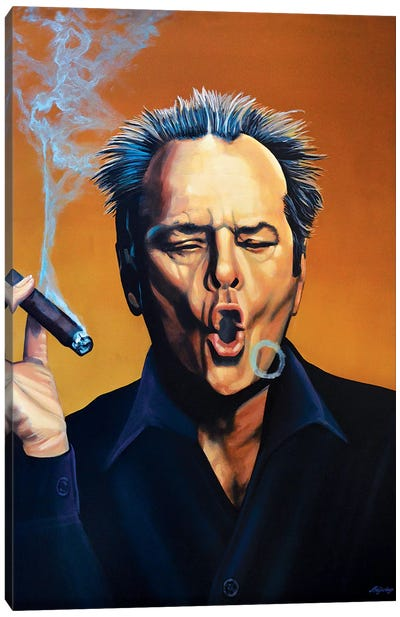 Jack Nicholson I Canvas Art Print