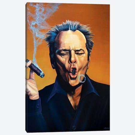 Jack Nicholson I Canvas Print #PME77} by Paul Meijering Canvas Print