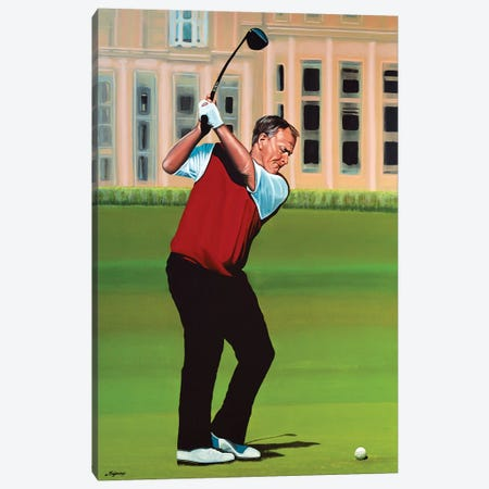 Jack Nicklaus Canvas Print #PME79} by Paul Meijering Canvas Wall Art