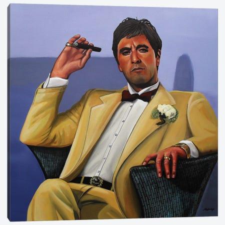 Al Pacino I Canvas Print #PME7} by Paul Meijering Canvas Print