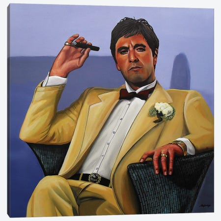 Al Pacino I Canvas Print #PME7} by Paul Meijering Canvas Print