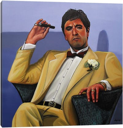 Al Pacino I Canvas Art Print