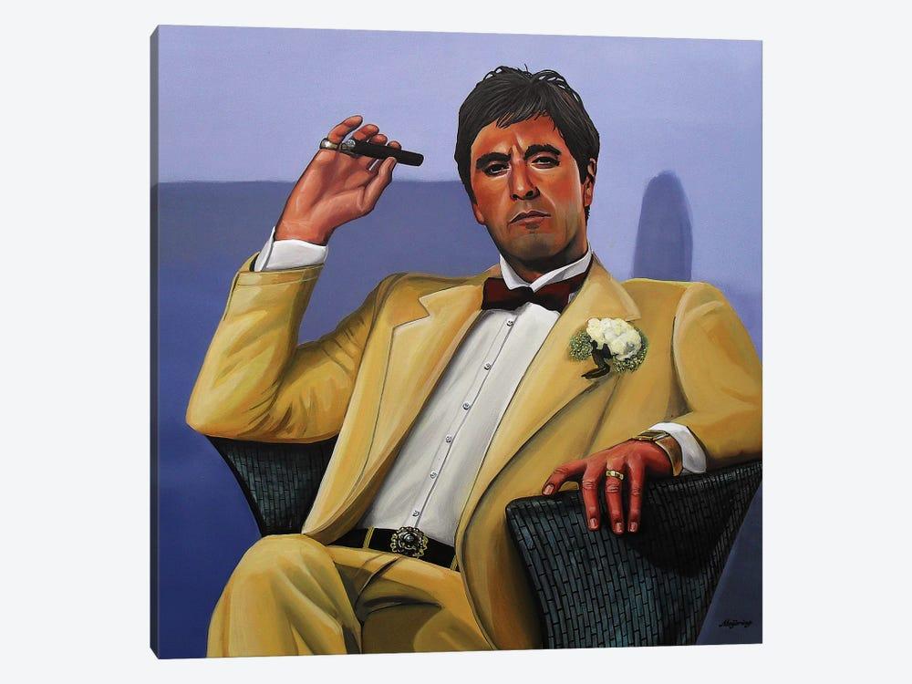 Al Pacino I by Paul Meijering 1-piece Canvas Artwork