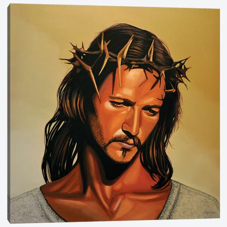Jesus Christ Ted Neeley Canvas Print #PME86} by Paul Meijering Canvas Wall Art