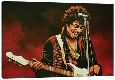Jimi Hendrix I Canvas Art Print