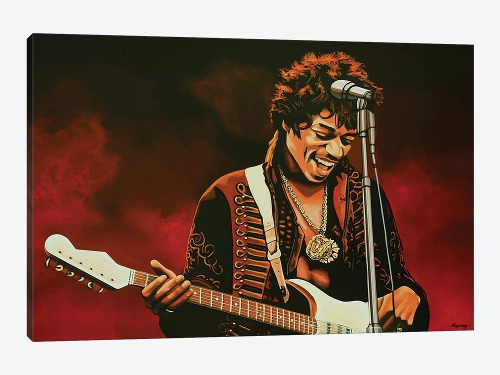 Jimi Hendrix I by Paul Meijering 1-piece Art Print