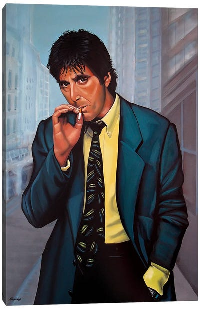 Al Pacino II Canvas Art Print