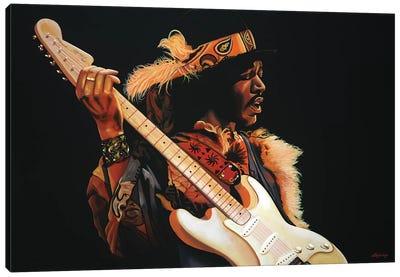 Jimi Hendrix III Canvas Art Print