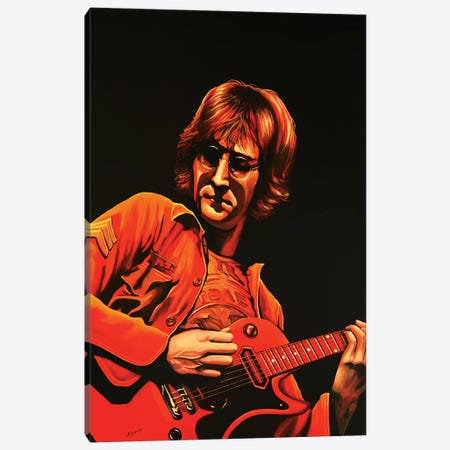 John Lennon Canvas Print #PME93} by Paul Meijering Canvas Artwork