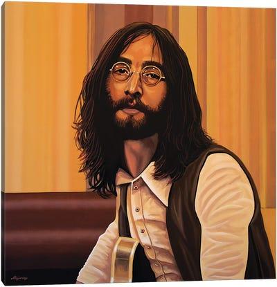 John Lennon Imagine Canvas Art Print