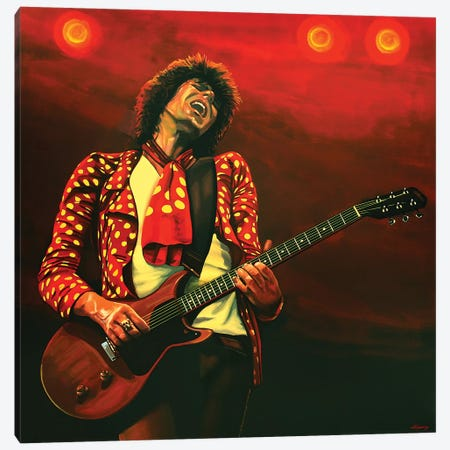 Keith Richards I Canvas Print #PME97} by Paul Meijering Art Print