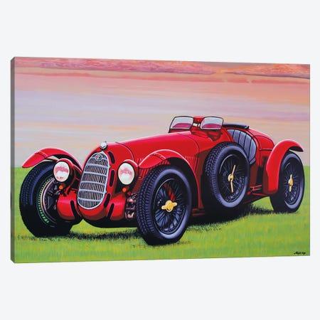 Alfa 8C 2900 Canvas Print #PME9} by Paul Meijering Canvas Artwork