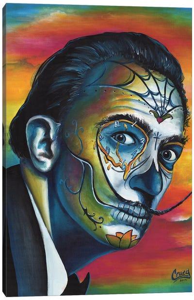 Maddened Intelligence Canvas Art Print