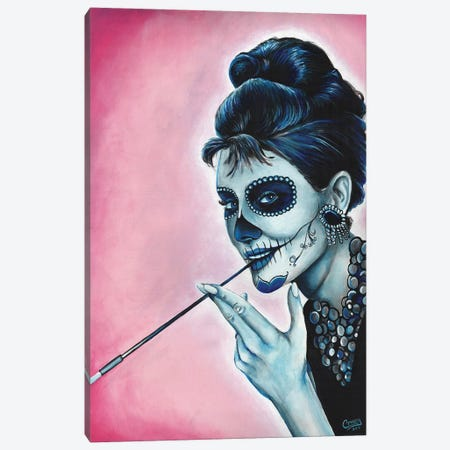 Serious Absurdity Canvas Print #PMF22} by The Poet Mr. Fab Canvas Art