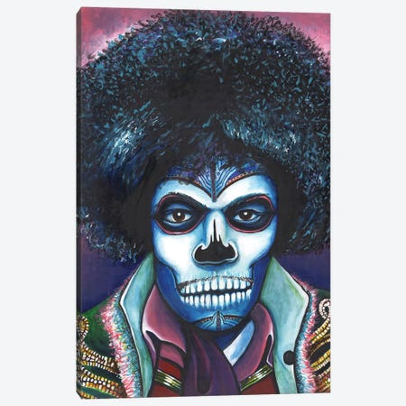 Tinted Gaze Canvas Print #PMF25} by The Poet Mr. Fab Canvas Art Print