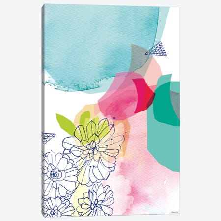 Garden Shapes II Canvas Print #PMI14} by Sweet William Art Print