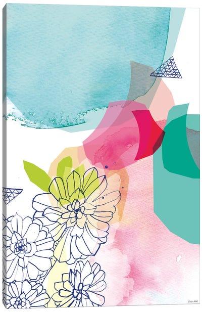 Garden Shapes II Canvas Art Print